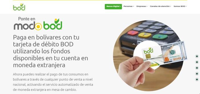 Banco Universal BOD