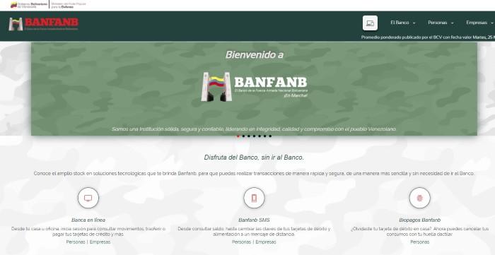 banco de la fuerza armada nacional bolivariana BANFANB