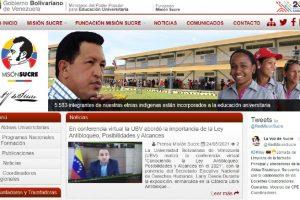 Inscribirse en Misión Sucre: Trámites y Requisitos