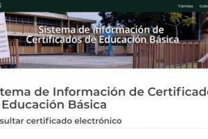 Solicitar y Descargar Certificado de Secundaria en México