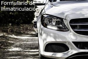 Completar el Formulario de Inmatriculación Vehicular