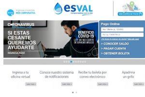 Esval: Estado de Cuenta y Pago En Línea
