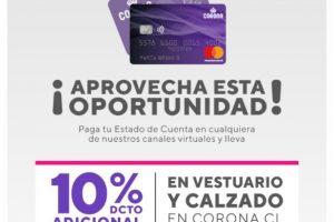Tarjeta Corona: Estado de Cuenta y Pago En Línea