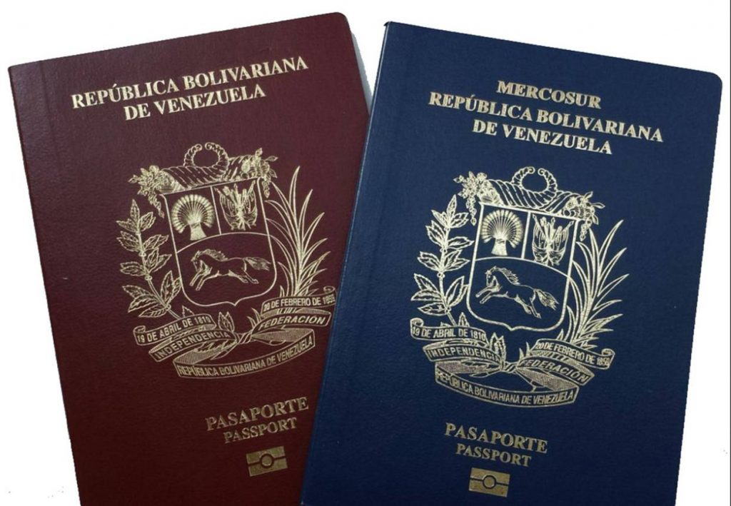 cita para pasaporte venezolano