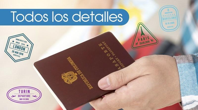 pedir pasaporte en colombia
