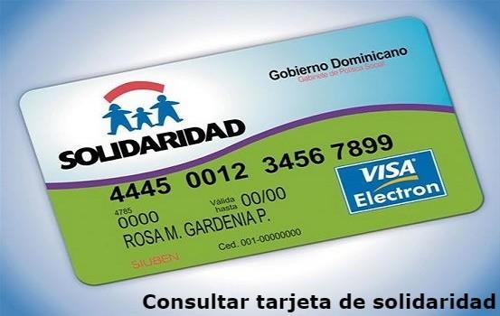 consultar tarjeta de solidaridad